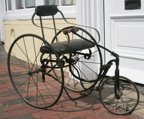 1890s Tiller & Treadle Juvenile Tricycle 05