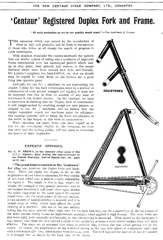 1899 centaur catalogue 1