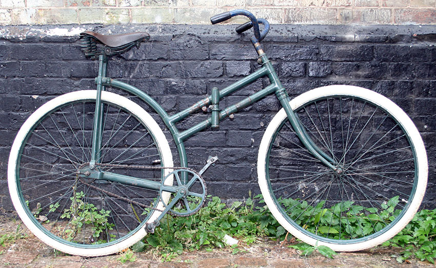 1918 Capitaine Gerard Folding Bicycle 05