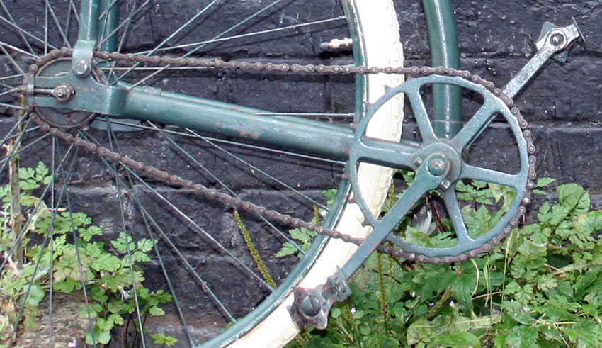 1918 Capitaine Gerard Folding Bicycle 08