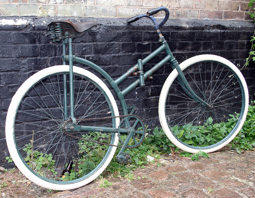 1918 Capitaine Gerard Folding Bicycle 88