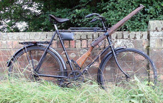 1918 WW1 Military Bicycle 05