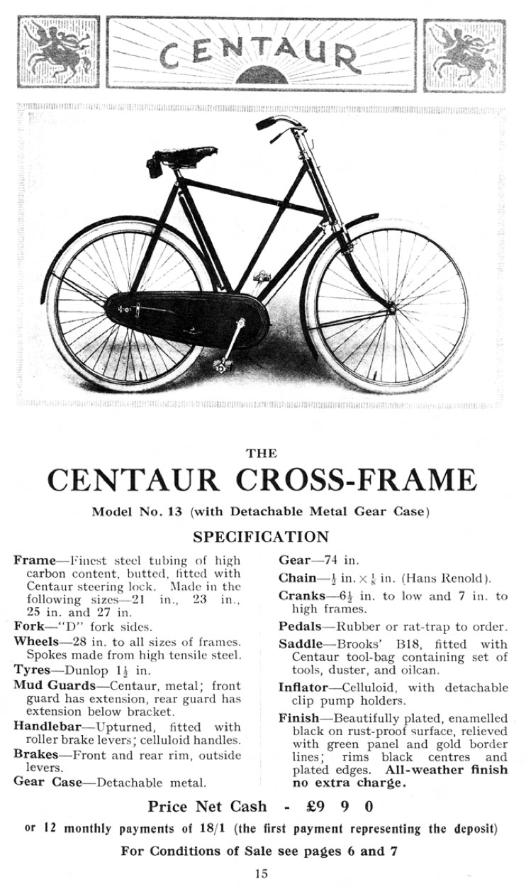 1926 Centaur Cross-Frame 12