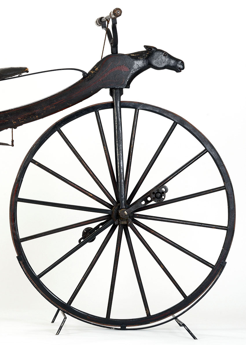 1869 Horse Head Velocipede The Online Bicycle Museum