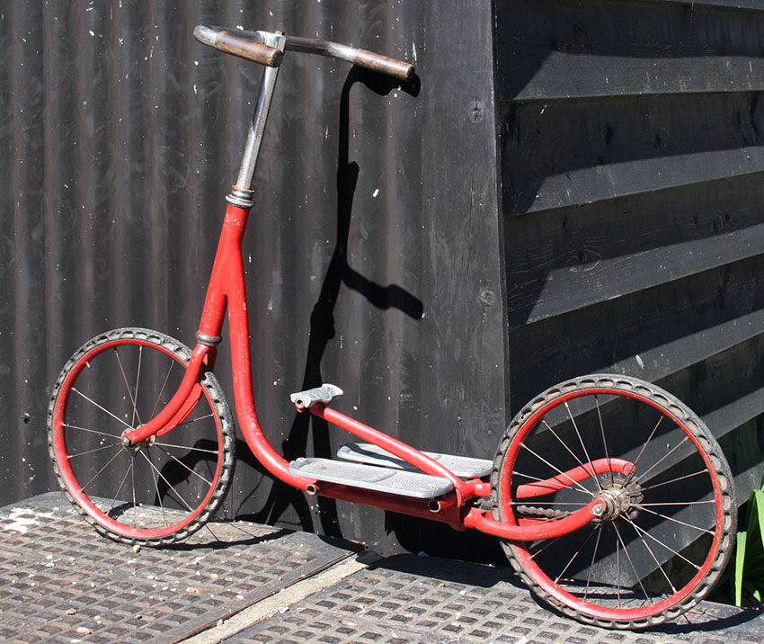 shopping scooter montreuil