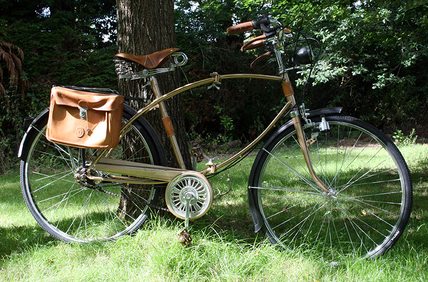 1983 Trussardi Folding City Bike Parabike The Online Bicycle