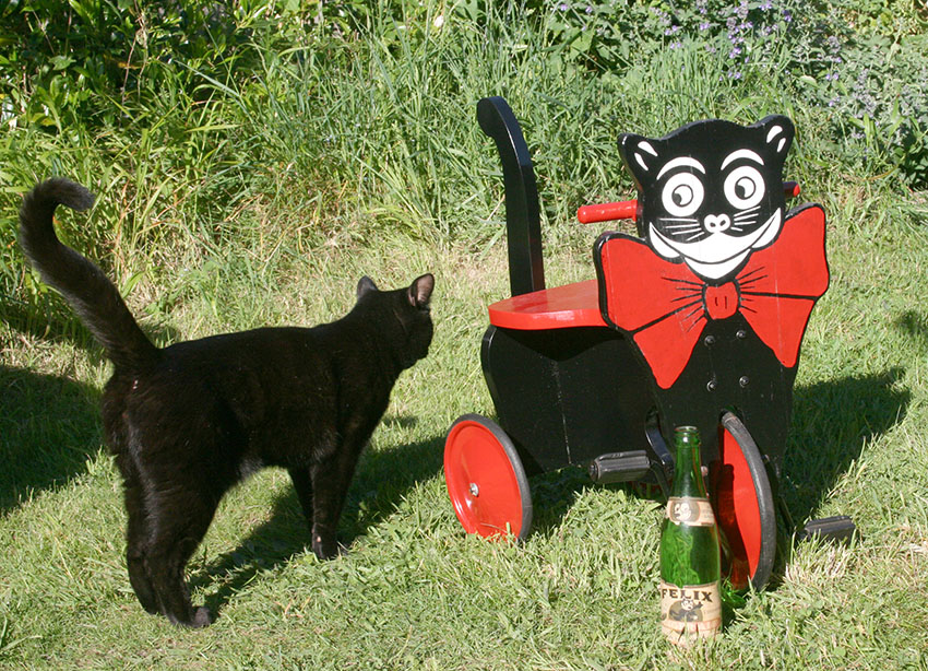 1920s Felix The Cat Tricycle The Online Bicycle Museum