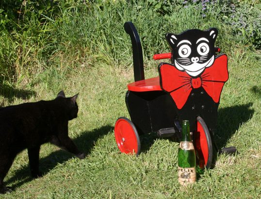 1920s Felix the Cat Tricycle 05