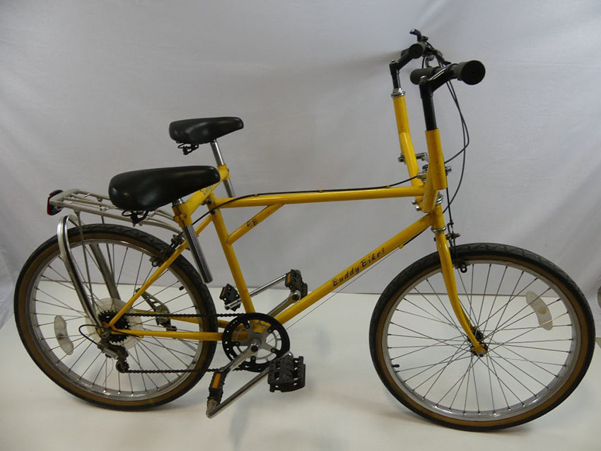 1980 Buddy Bike Side By Side Sociable Tandem The Online Bicycle