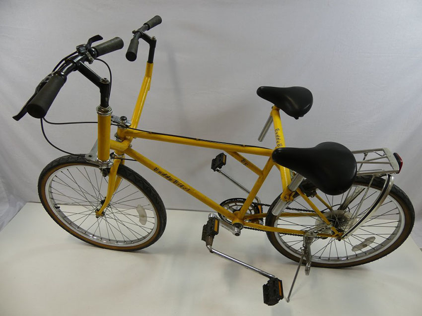 1980 Buddy Bike Side-by-Side Sociable Tandem – The Online Bicycle Museum