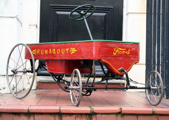 1908 Ford Runabout Pedal Car 05