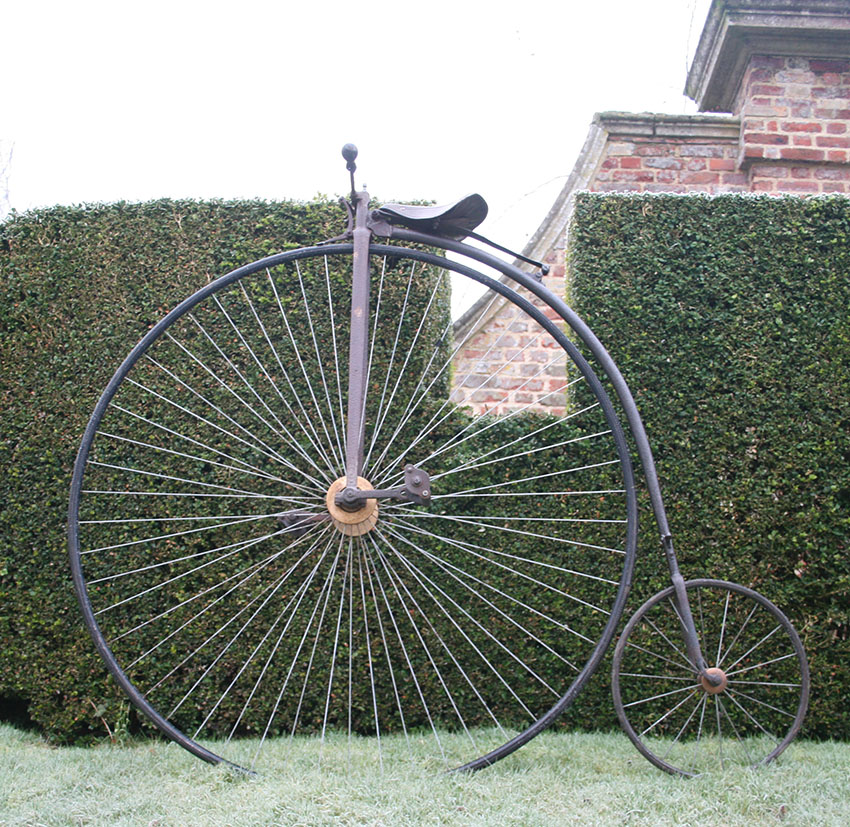 1880s Penny Farthing 52 With Humber Components The