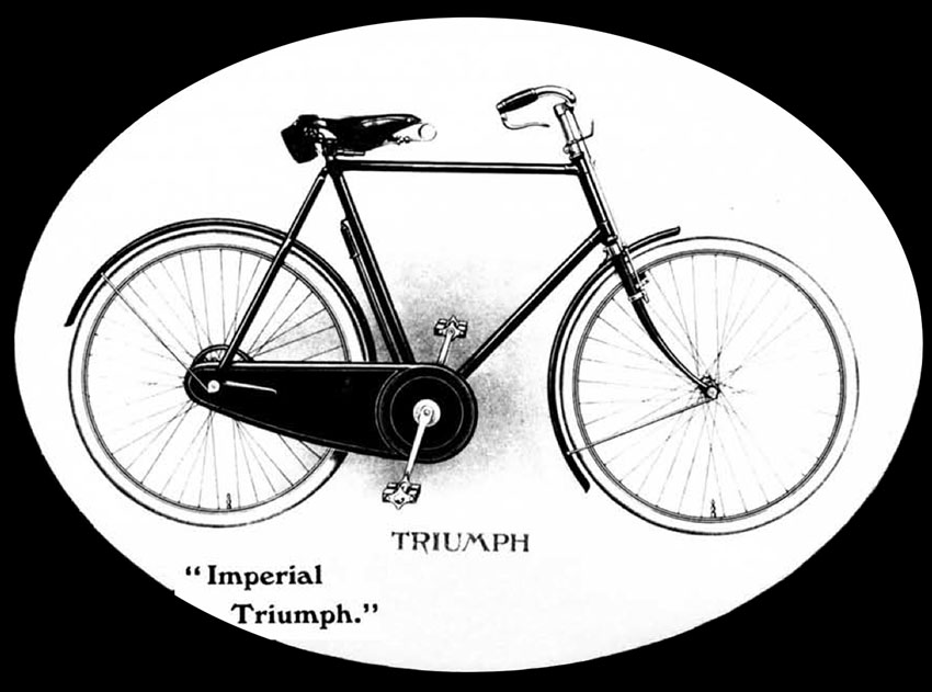 the online bicycle museum 1912 imperial triumph tall 29 frame 1952 Mercury Convertible is as suitable for daily use now as it was when it was built 105 years ago but only if your legs are long enough for a giant 29 inch frame