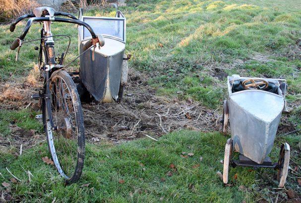 1937 Watsonian Pedal Car & BSA Tandem 05