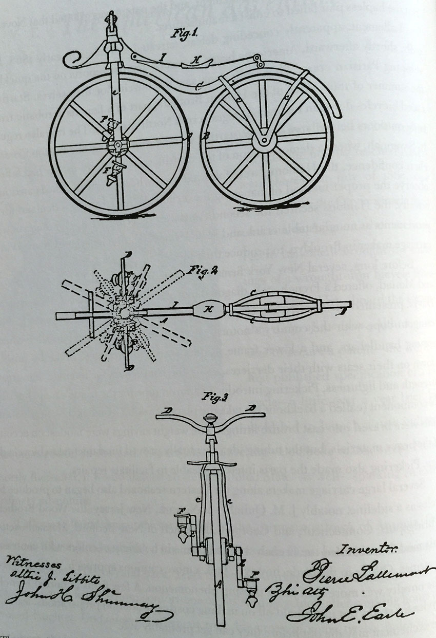 The Online Bicycle Museum 1868 Wm Sargent Rink Velocipede Wiring Diagram