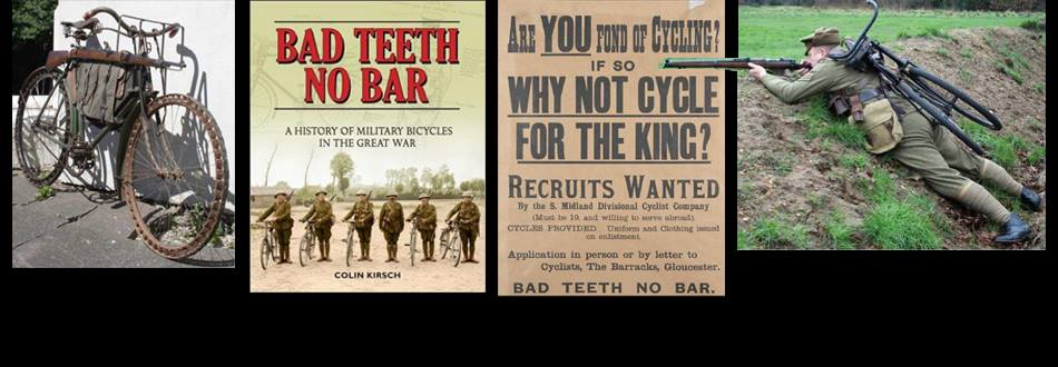 A History of Military Bicycles in the Great War Bad Teeth No Bar