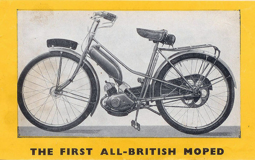 1955 Norman Cyclemate – The Online Bicycle Museum
