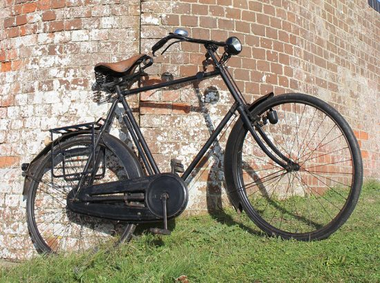 1924 BSA No 14D All-Weather Bicycle 05
