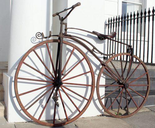 1869 Sargent Paris Velocipede 05