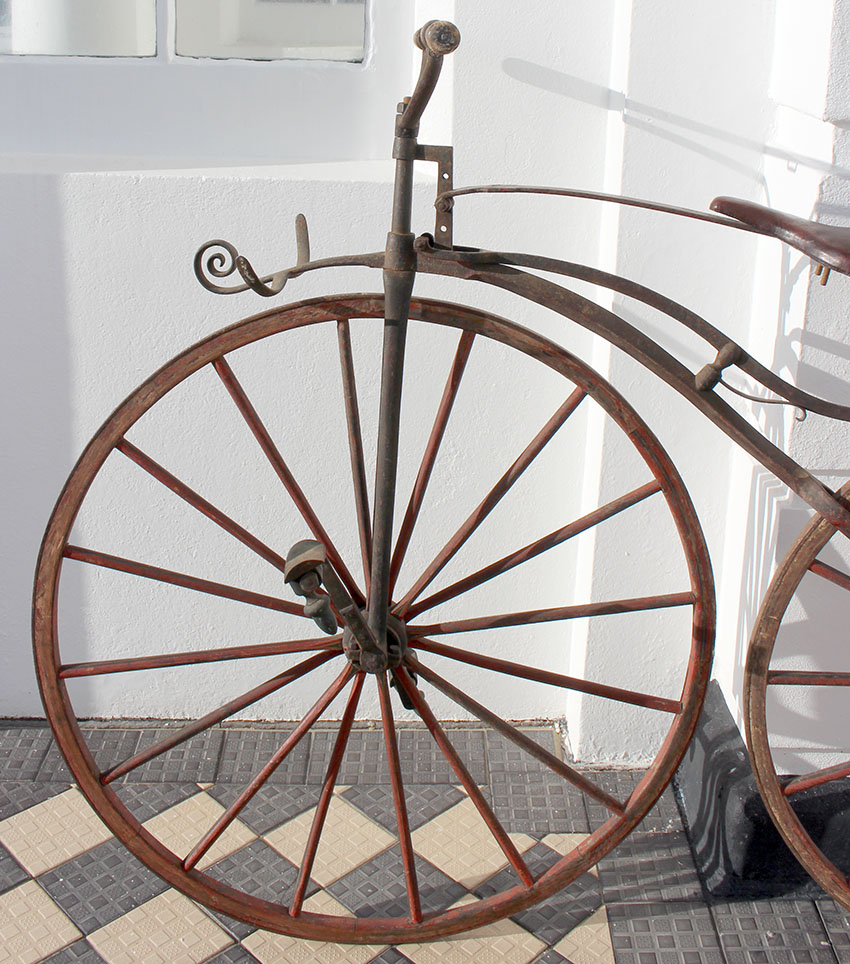 1869 Velocipede by Charles Sargent, 73 Champs Elysees, Paris | The ...