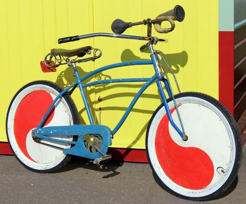 1950s Cadillac Clown Bike 05