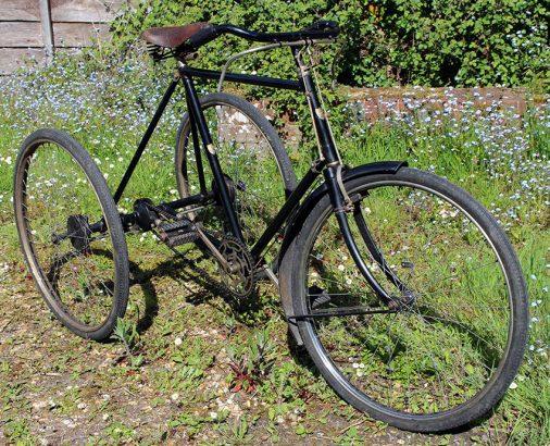 1912 James Gentleman's 'Model 25' Tricycle 05