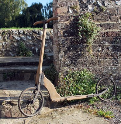 1920s Eureka Trottinette Scooter 05