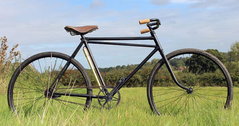 1920s French Truss frame 05