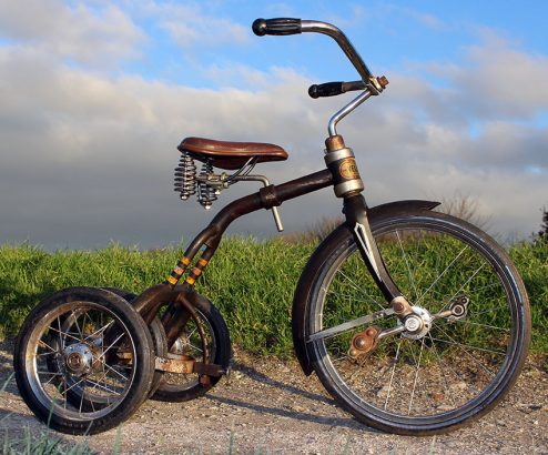 1949 Velo-Bike Convertible Tricycle 05