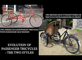rickshaws ONLINE BICYCLE MUSEUM