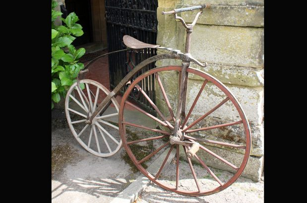 1870 French Transitional Velocipede 67