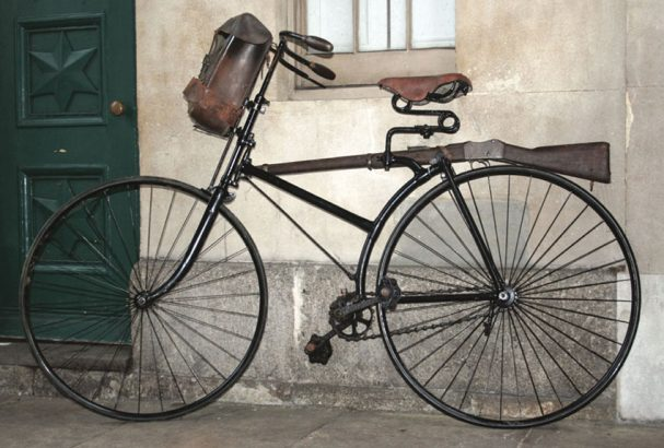 1887 Singer Military Safety bicycle