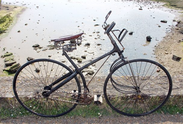 1887 Victor Safety Crossframe Springfork 61