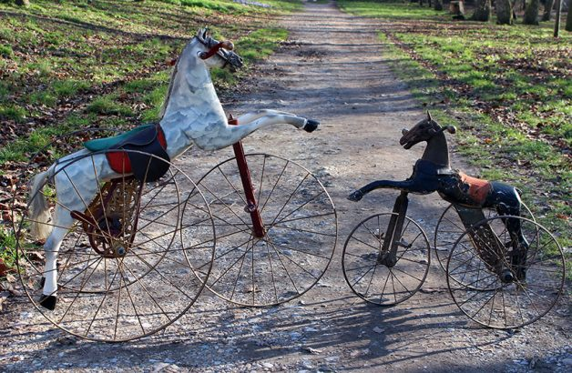 1890s Velocipede Horse Tricycle 92