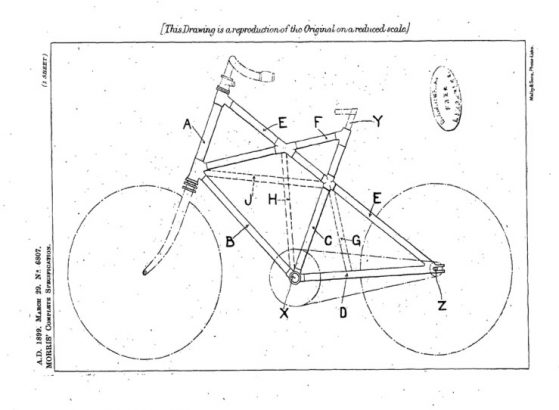 1899_March_George_Morris_Cross_Frame_Patent_0