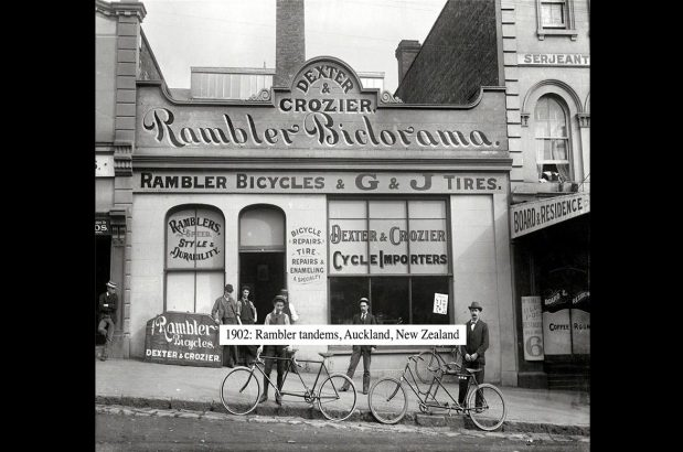 1902-rambler-tandem-nz-Dexter-Crozier-Victoria-Street-East-Auckland-copy