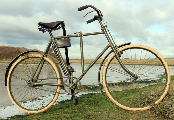 1910s Phillips Military Folding Bicycle 05