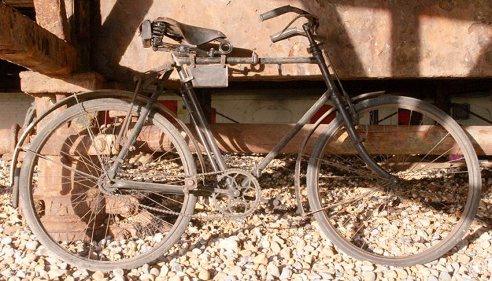 1914 BSA Folding military bicycle 05