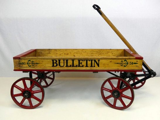 1918-Philadelphia-Bulletin-News-Vendors-Coaster-Wagon-20