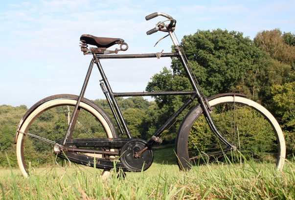 1920s-BSA-30.5-incvh-frame-tallest-bicycle