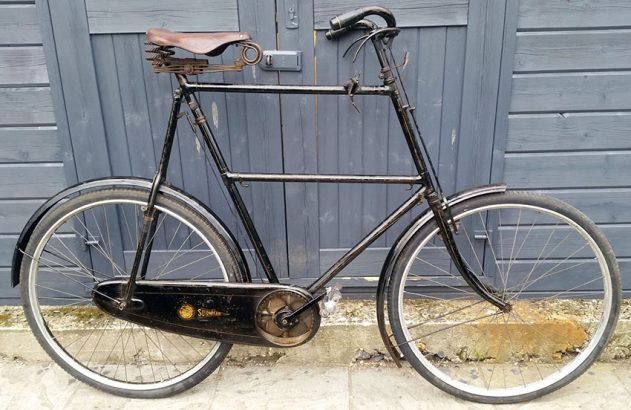 1924 Royal Sunbeam Tall frame 30 inch 05