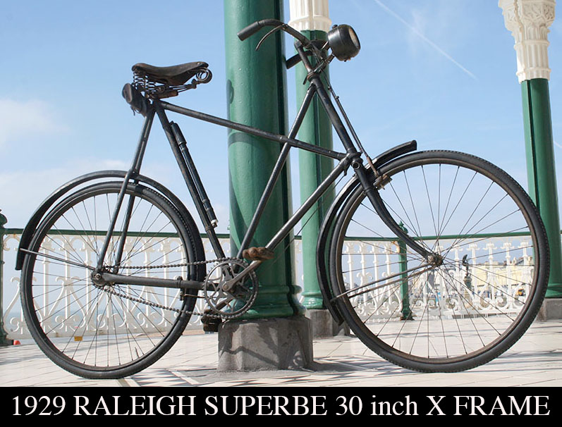 1929-RALEIGH-30 INCH-X-FRAME