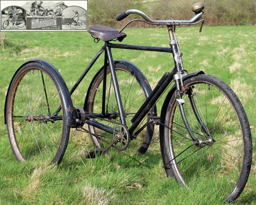 1930s James Gents Tricycle 05