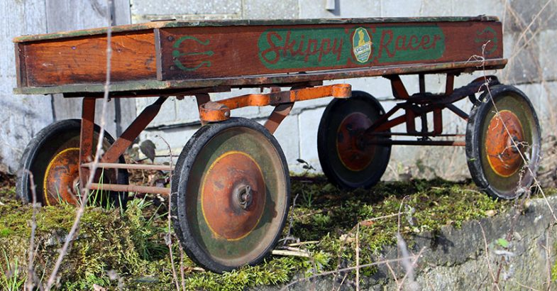 1930s Skippy Racer coaster wagon 94