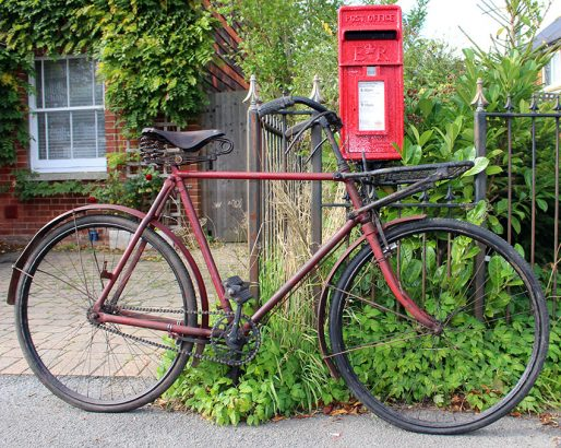 1935-CWS-Wholesale-Co-operative-Society-Federal-Post-Office-Bicycle