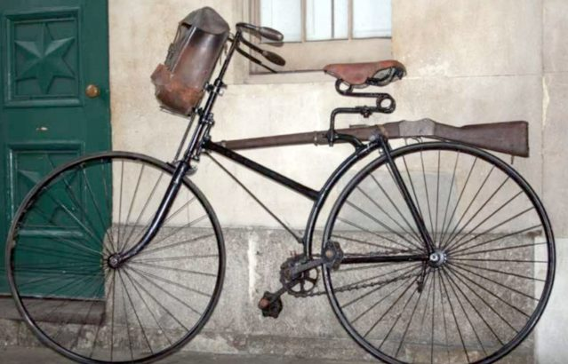 HISTORY OF MILITARY BICYCLES