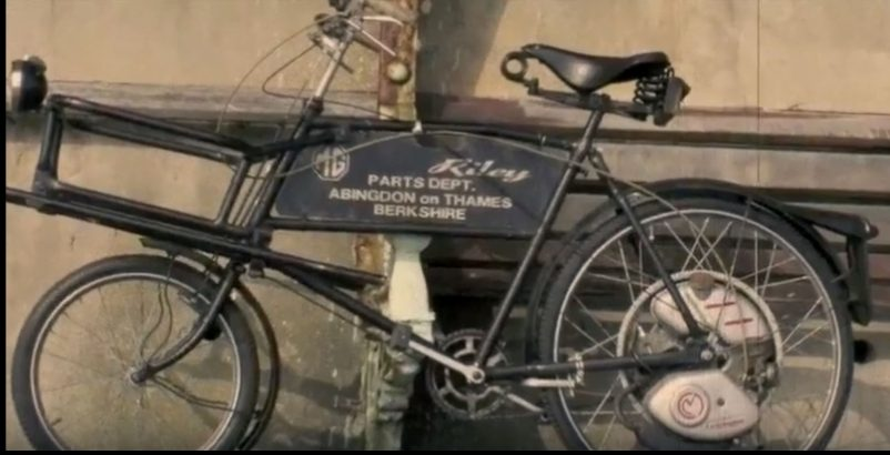 MG & Riley Factory Cyclemaster Carrier Bicycle