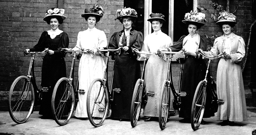 Online Bicycle Museum bloomer club