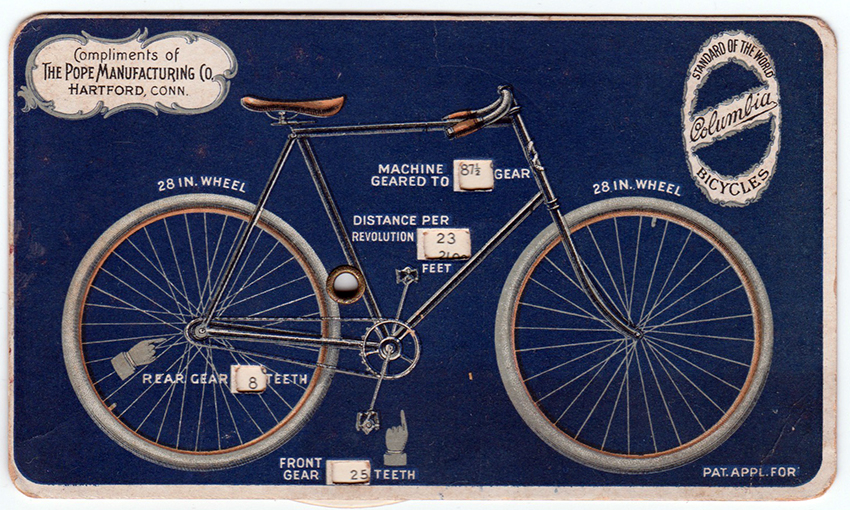 Online Bicycle Museum columbia