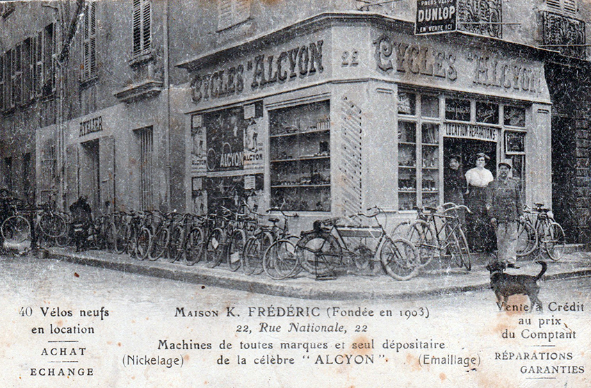 Online Bicycle Museum french bicycles